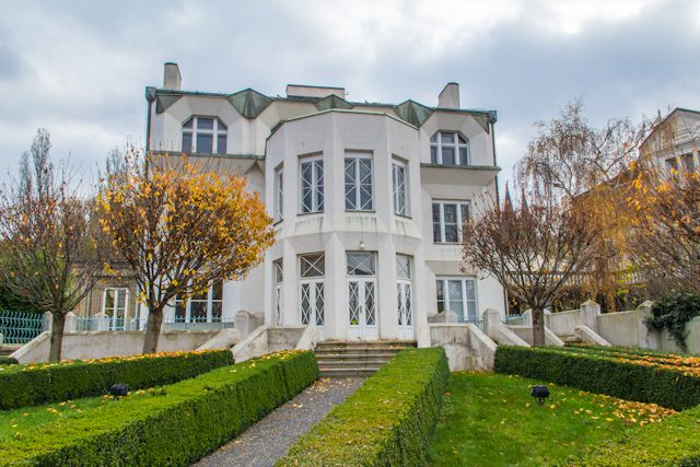 Praga alternativa cubista Villa Kovarovic Josef Chochol