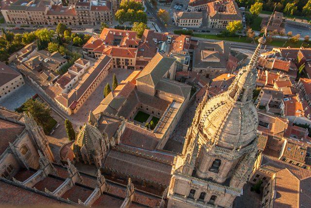 Salamanca Globo Catedral Picado