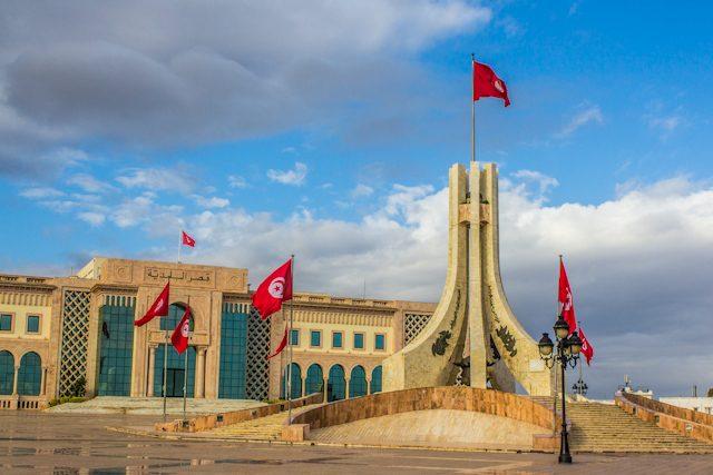 Tunez Ayuntmaiento Monumento Caidos