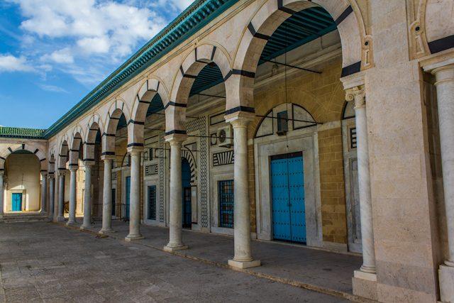 Tunez Medina Patio Mezquita