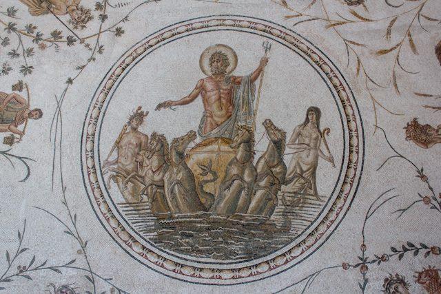 Tunez Museo Bardo Mosaico Neptuno