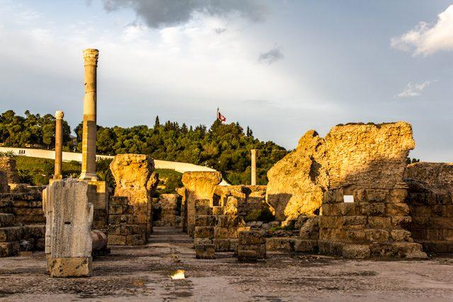 Tunez Ruinas Cartago Termas Antonino