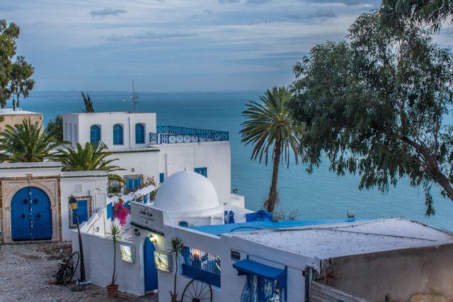Tunez Sidi Bou Said Mediterraneo