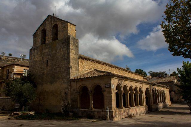 Alcarria Guadalajara Villaviciosa de Tajuna Iglesia