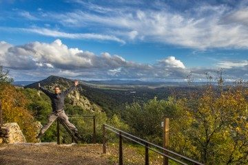 Extremadura Parque Nacional Monfrague Salto