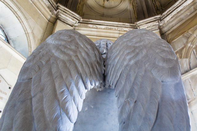 Madrid Cementerio San Isidro Angel Monteverde Alas