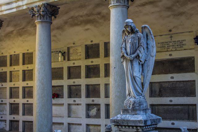 Madrid Cementerio San Isidro Angel Nichos