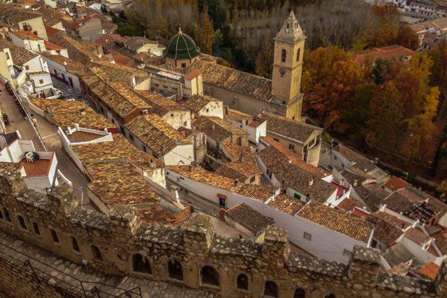 Manchuela Albaceteña Alcala del Jucar Vista Castillo