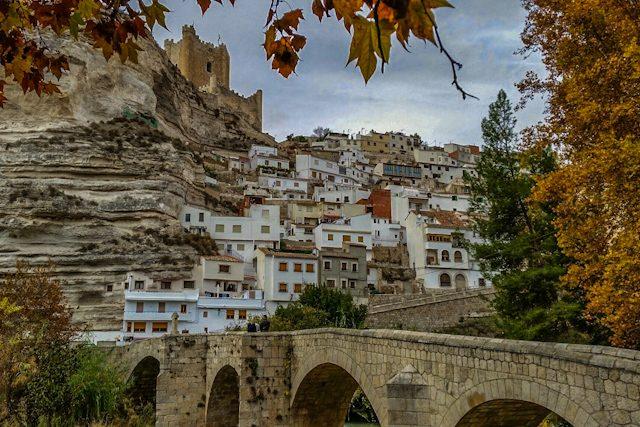 Manchuela Albaceteña Alcala del Jucar Vista Rio