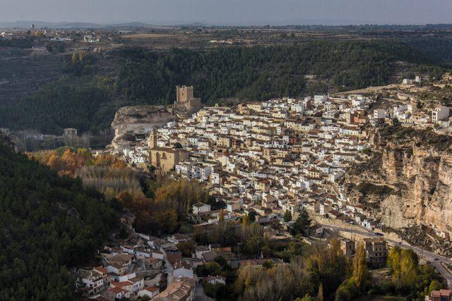 Manchuela Albaceteña Alcala del Jucar Vista
