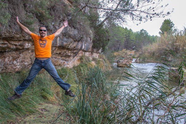 Manchuela Albaceteña Rio Cabriel Salto