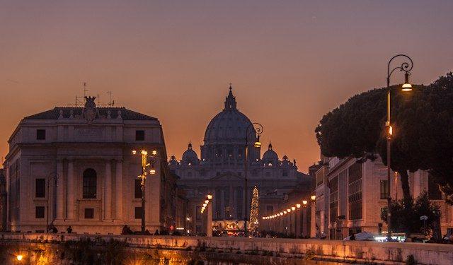 Roma Atardecer San Pedro