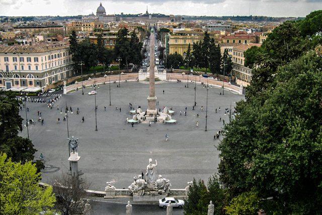 Roma Plaza Popolo Pincio