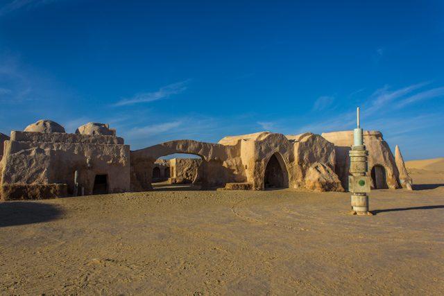 Tunez Decorado Star Wars Calle