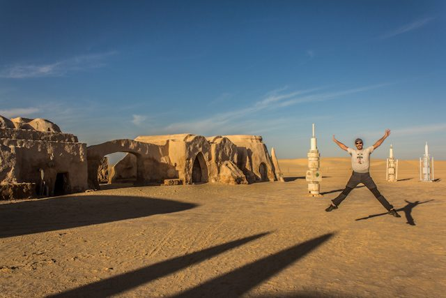 Tunez Decorado Star Wars Salto