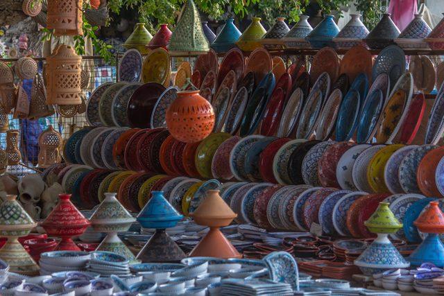 Tunez Jerba Houmet Souk Zoco Ceramica