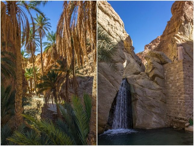 Tunez Oasis Desierto Chebika Mosaico