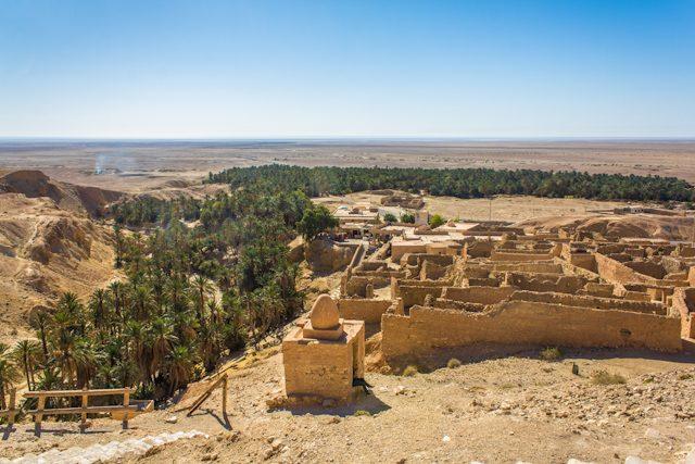 Tunez Oasis Montana Chebika Pueblo