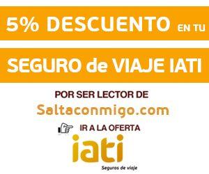 5% de descuento en tu seguro IATI por ser lector de SaltaConmigo.com