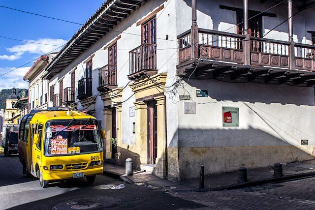 Colombia Bogota Centro Buseta