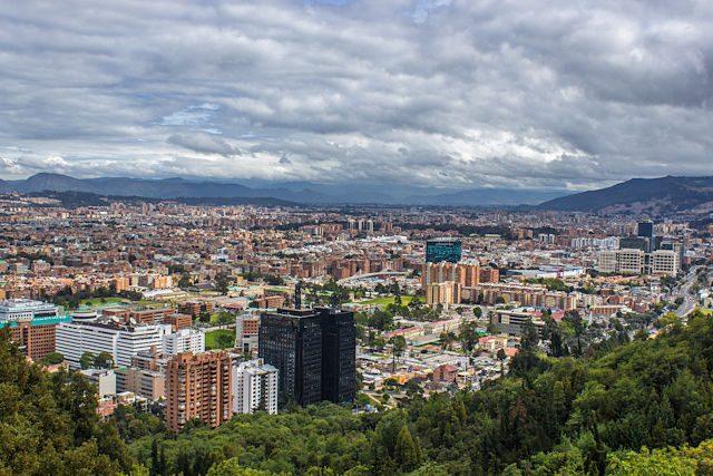 Colombia Bogota Centro Panorama
