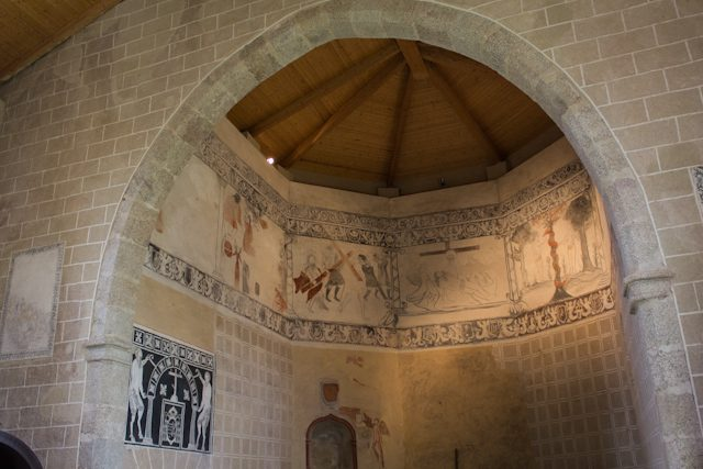 Extremadura Toril San Blas Portico Monfrague Pinturas
