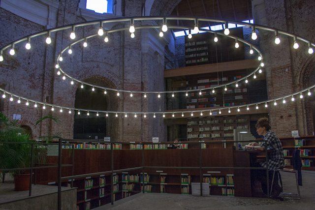 Madrid Biblioteca Escuelas Pias