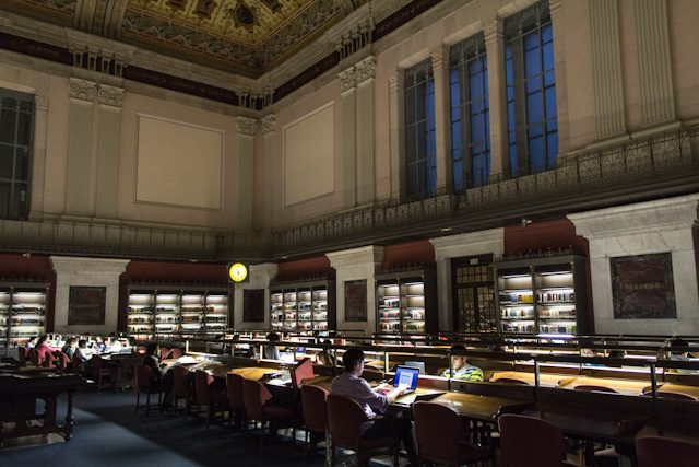 Madrid Biblioteca Nacional de España Sala Lectura