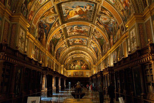 Madrid Biblioteca Real Monasterio San Lorenzo Escorial