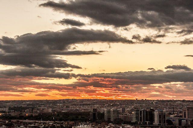 Madrid Puesta Sol Siete Tetas Cerro Tio Pio