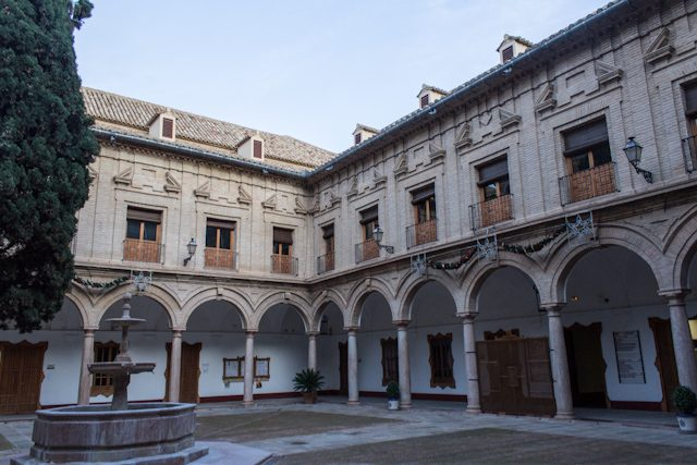 Malaga Antequera Casa Conde Colchal Patio