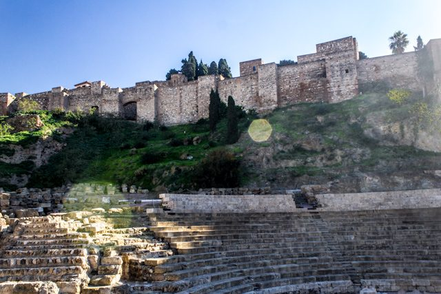 Malaga Roman Theater Alcazaba