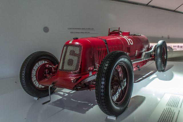 Modena Mueso Enzo Ferrari Maserati Clasico