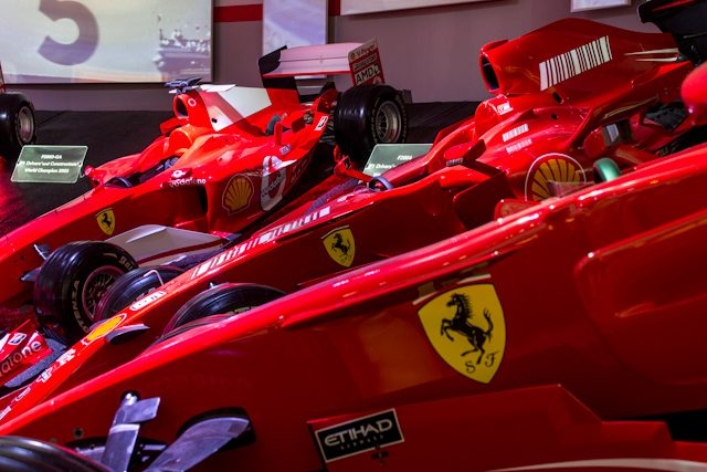 Modena Museo Ferrari Maranello Sala Victorias