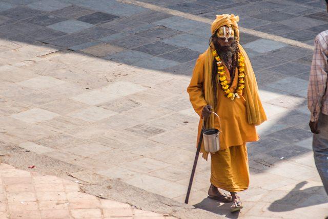 Nepal Plaza Durbar Katamandu Santon
