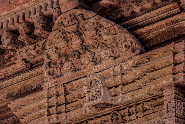 Nepal Plaza Durbar Katamandu Trabajo Madera Templo