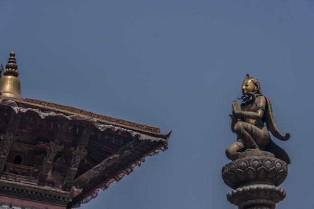 Nepal Plaza Durbar Patan Garuda