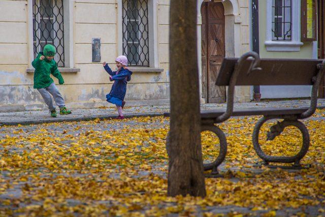 Praga Otono Kampa Ninos