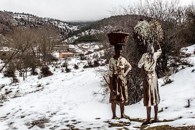 Cuenca Valdemeca Paisaje Ilustrado Encuentro
