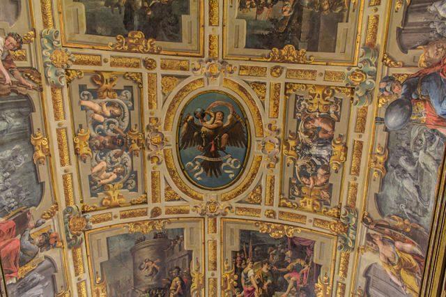 Italia Modena Palazzo Comunale Interior Frescos