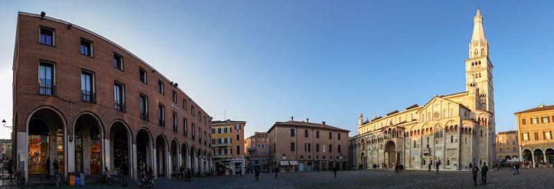 Italia Modena Plaza Piazza Grande Completa