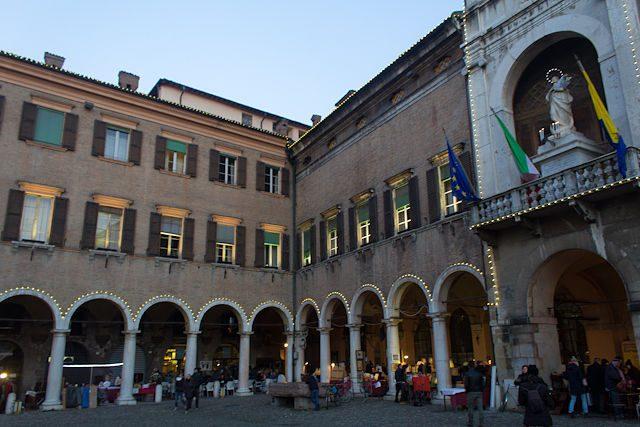Italia Modena Plaza Piazza Grande Palazzo Comunale Pietra Ringadora