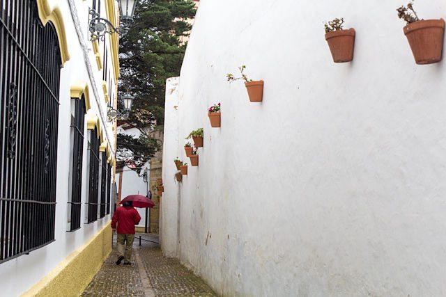 Malaga Ronda Calle Manuel Montero