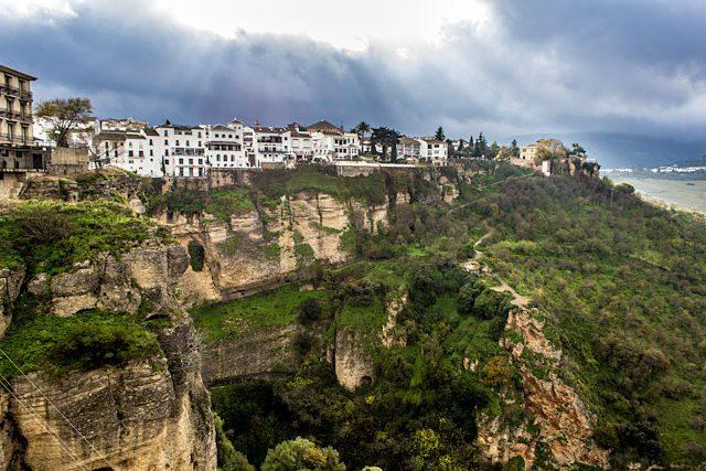 Malaga Ronda Casas Colgadas