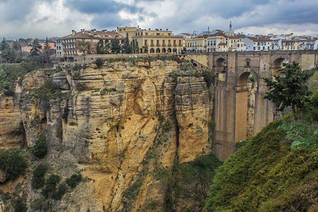 Malaga Ronda Tajo Puente Nuevo