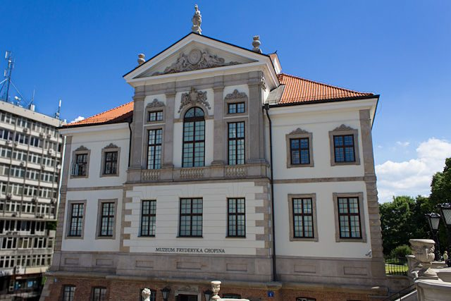 Polonia Varsovia Museo Fryderyk Chopin
