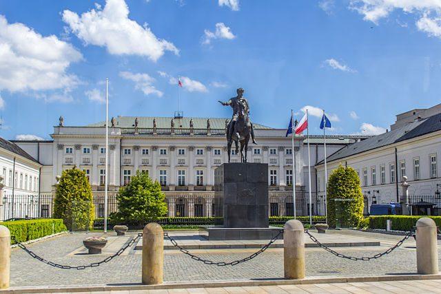 Polonia Varsovia Palacio Presidencial Concierto Chopin
