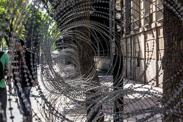Seguridad Tunez Alambre Espino