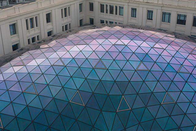 Centro Centro Palacio Telecomunicaciones Cupula Cristal