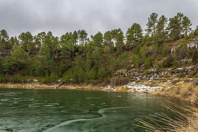 Cuenca Lagunas Cañada del Hoyo Laguna Gitana Cruz Orilla